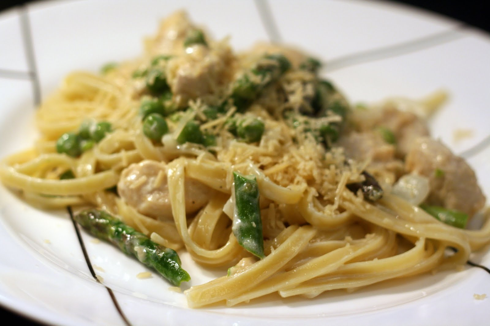 Fettuccine With Spring Vegetables Recipes — Dishmaps