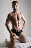 male model muscle Adam Coussins