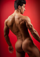 male muscle model David Costa