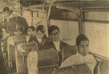 Onibus do Vasco, 1969