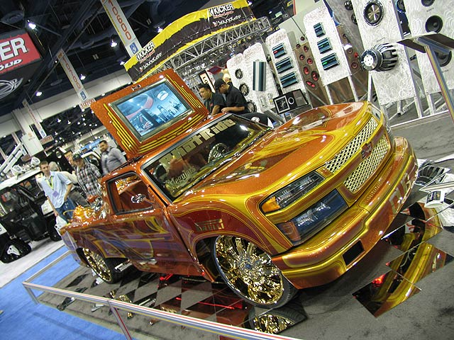 Cousins blog  low rider trucks