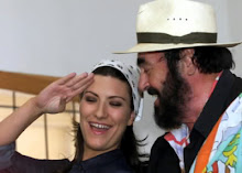 Pavarotti e Pausini