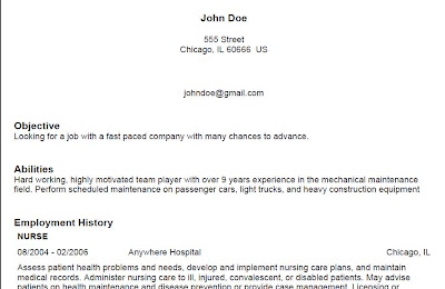 what a good resume should look like 3442
