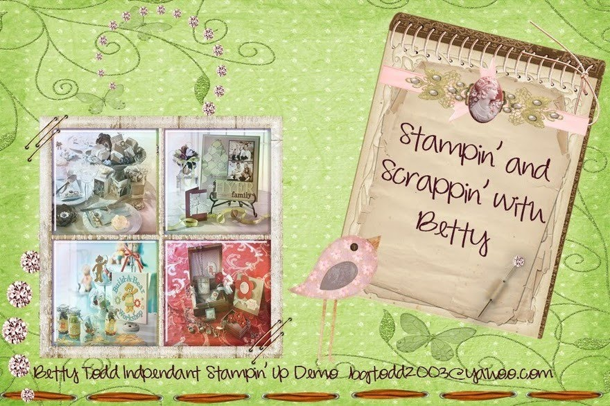 Stampin and Scrappin with Betty