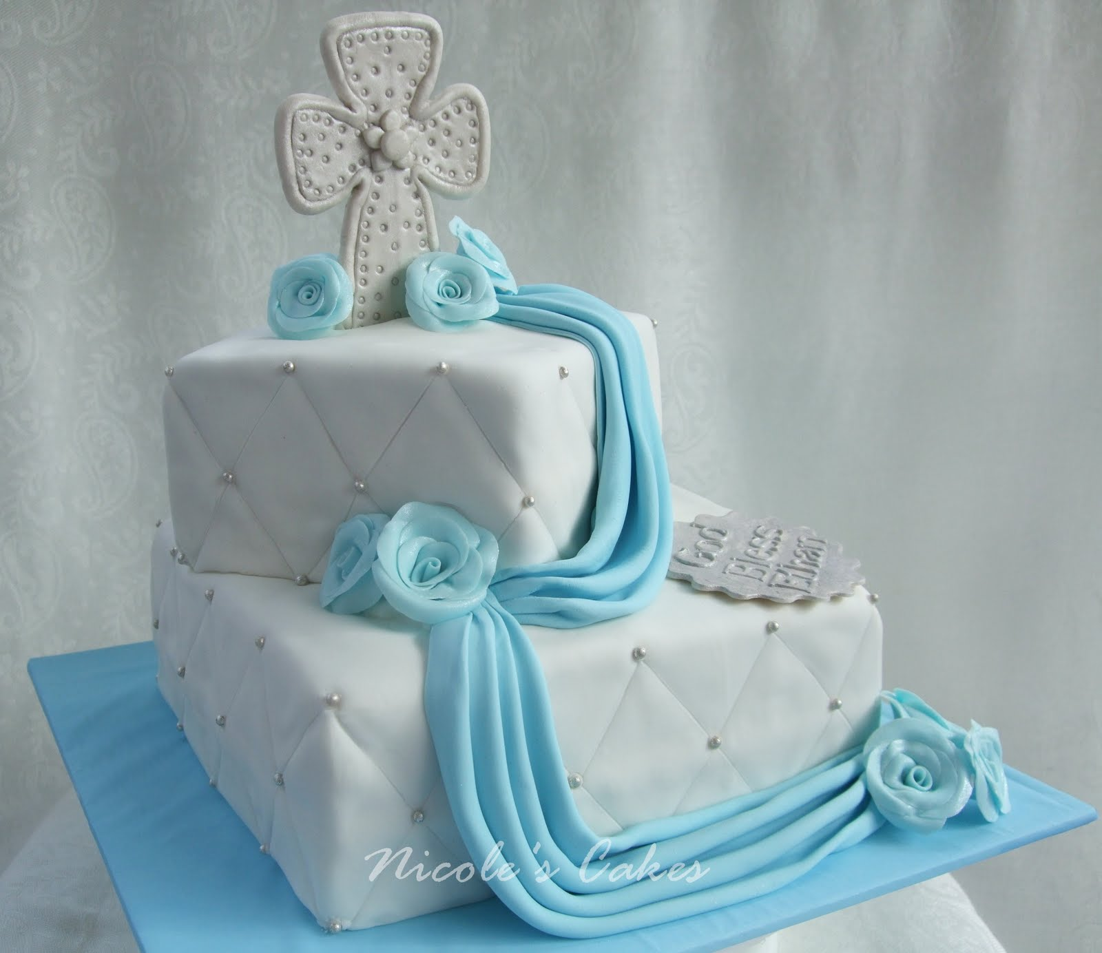 Images Of Cake For Christening : Confections, Cakes & Creations!: Christening/Baptism Cake ...
