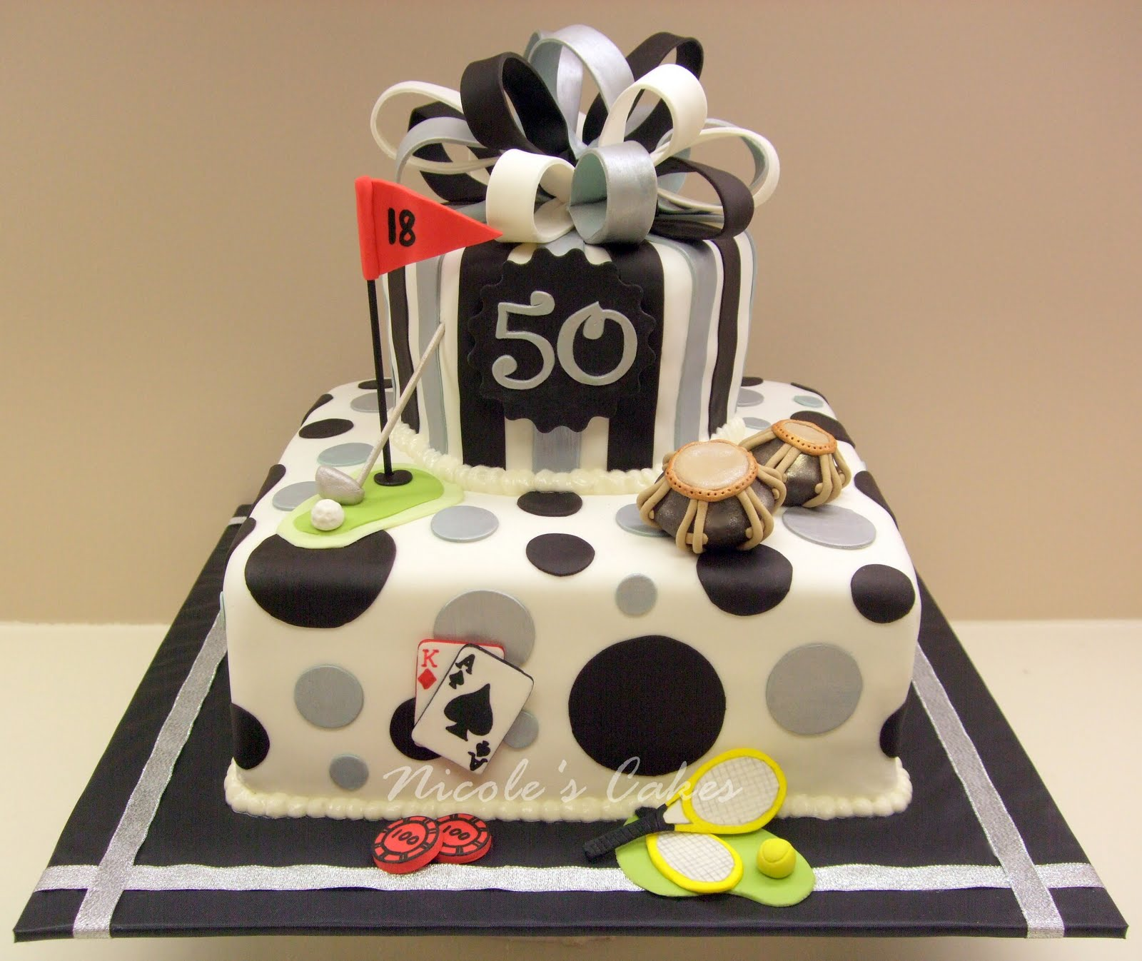 50th bday cakes