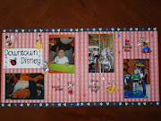 Disney Scrapbook Layout ~ Downtown Disney (dsc )