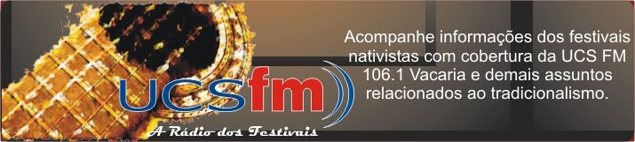 UCS FM nos Festivais