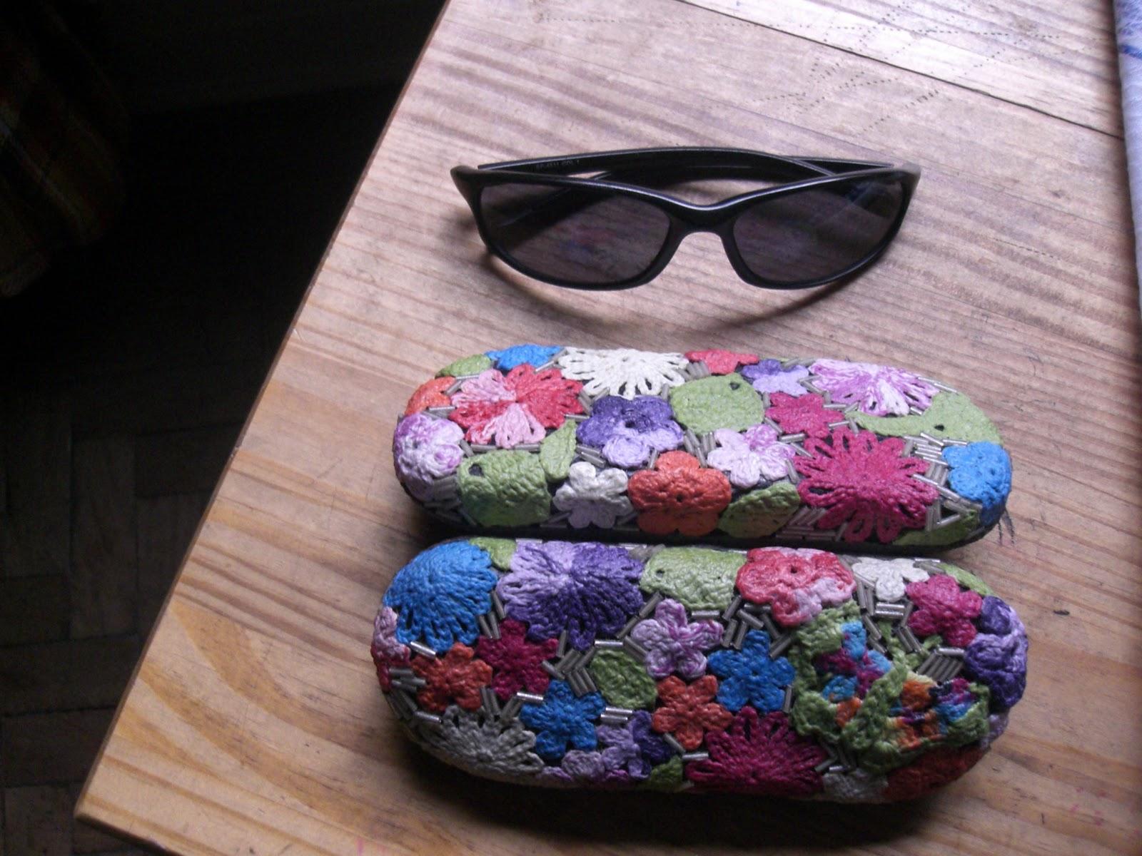 Tric e croch para todos porta culos florido for Porta oculos