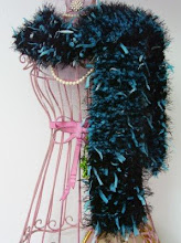 *Knitted Ribbon Scarf*