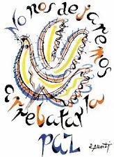 Alberti y su paloma de la paz