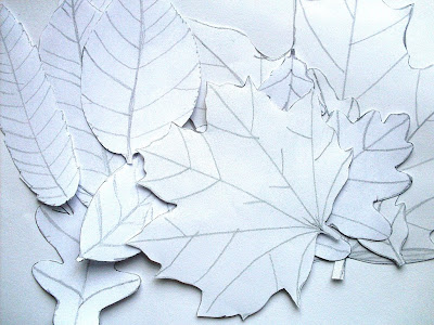 Bugs And Fishes By Lupin Paper Leaf Garlands A Quick