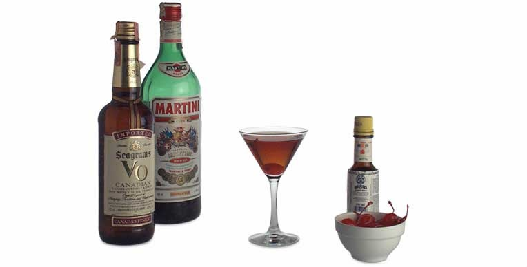 Everythinginthebar manhattan cocktail for Manhattan cocktail storia