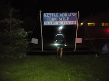 Winning the 2010 Kettle Moraine 100