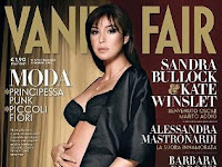 Pregnant cover girl for second time ... Actress Monica Bellucci said she wanted to show being a middle-aged mum is not a problem.
