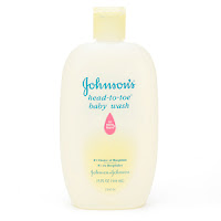 Johnson & Johnson head to toe baby wash