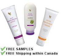 Free FLP Aloe Vera products
