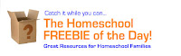 Homeschool Freebie of the Day