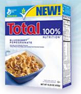 Free Total Blueberry Pomegranate Cereal