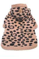 The furr me Camel/Black Leopard hoodie