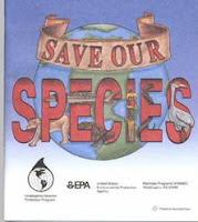 Image: Free Save Our Species Colouring Book