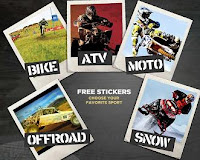 Image: Free Sport Sticker/Poster from Fox Racing Shox