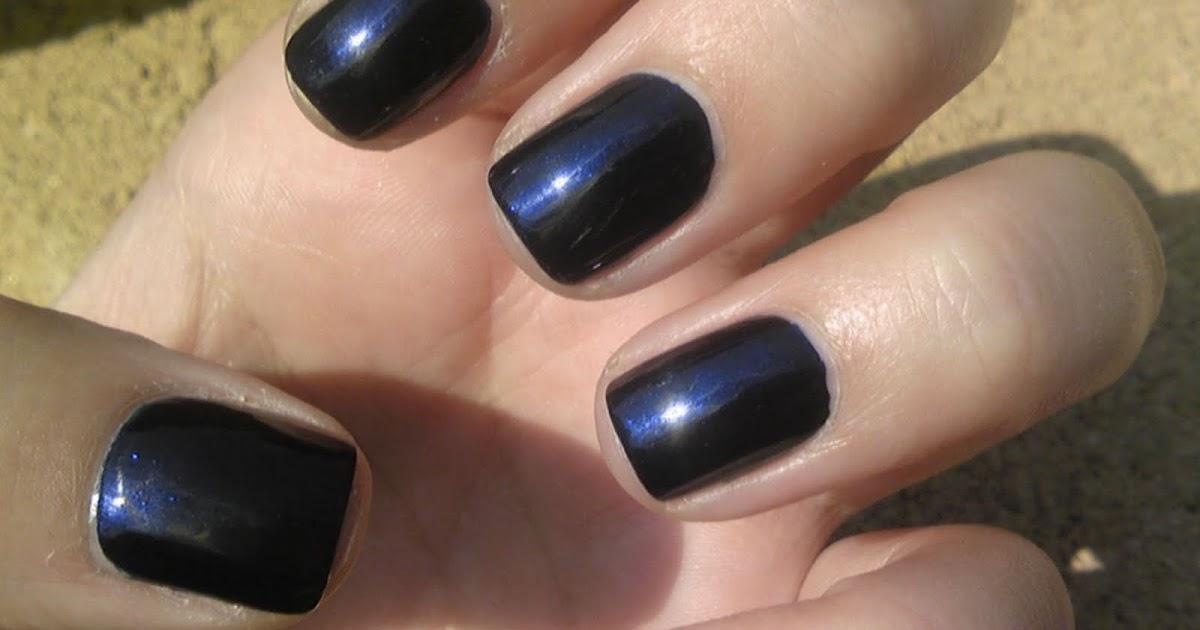 Midnight Blue Nail Polish Essie | Hession Hairdressing