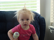 "In our family this is what we call a ""muff""  her hair is so muffled!"