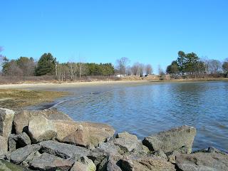 Winslow Park beach.