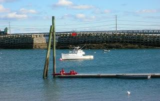 Cribstone Bridge, Bailey's Island, Maine.