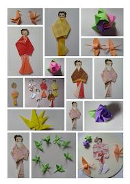 Meus trabalhos em Origami! - II