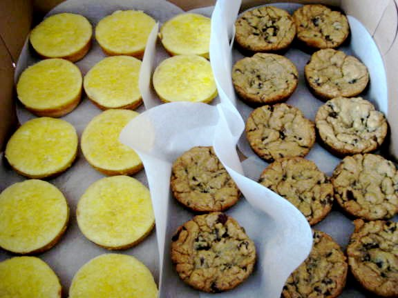 Lemon Tartlets - ChocChip Muffin Cup Cookies