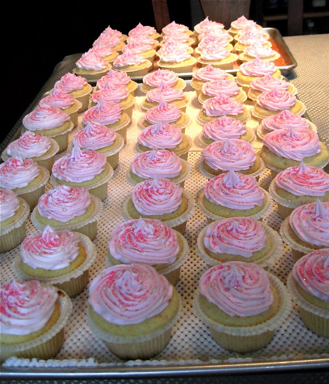 "Lemon Vanilla ""Princess"" Cupcakes"