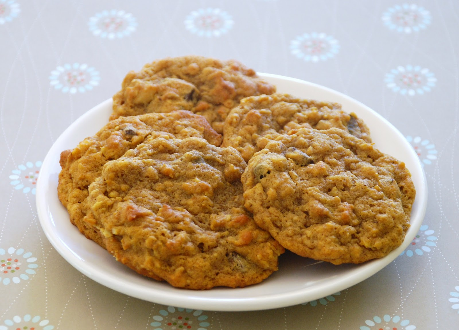 Everyday Insanity...: Pumpkin Oatmeal Cookies