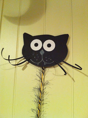 Ellen 39 s art and craft halloween witches 39 cat for Cat art and craft