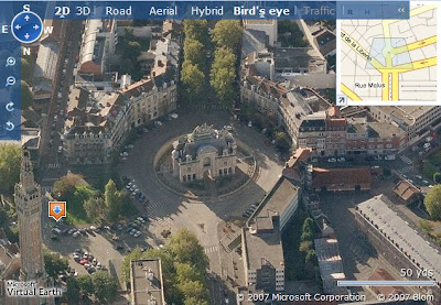 lille dans live search maps