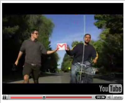 Gmail vidéo des coulisses
