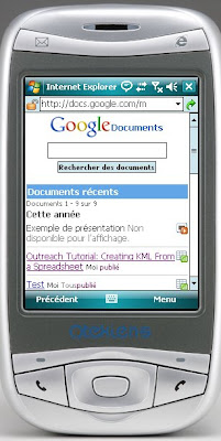 google documents mobile