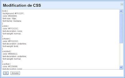 google docs css