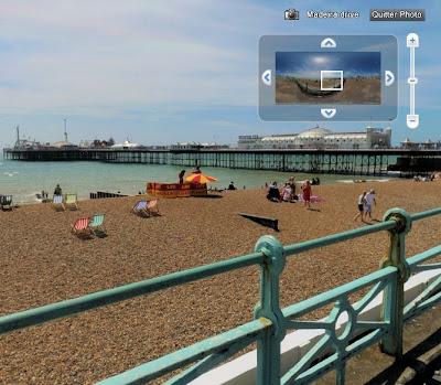 360cities inétgré à Google Earth
