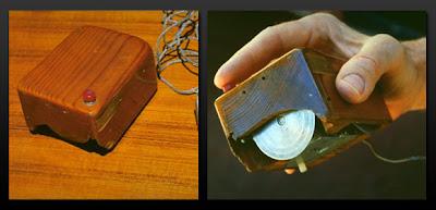 la première souris de l'histoire de l'informatique
