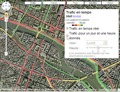 google xxl le trafic routier en france avec google maps. Black Bedroom Furniture Sets. Home Design Ideas