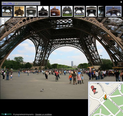Les photographies Panoramio dans Google Maps Street View