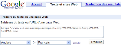 Traduire des documents DOC, XLS ou PDF avec Google Traduction