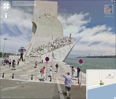Google Street View en Suisse et au POrtugal