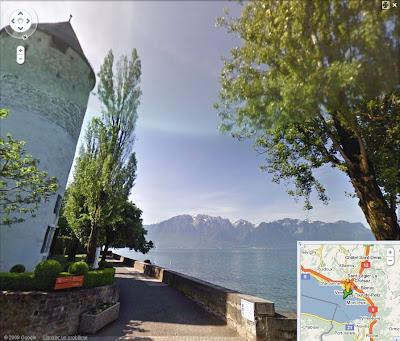 La Suisse couverte par Google Street View