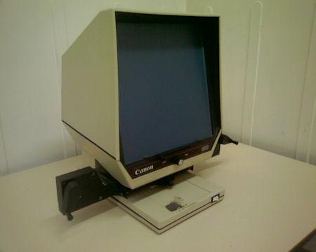 Máquina de microfichas