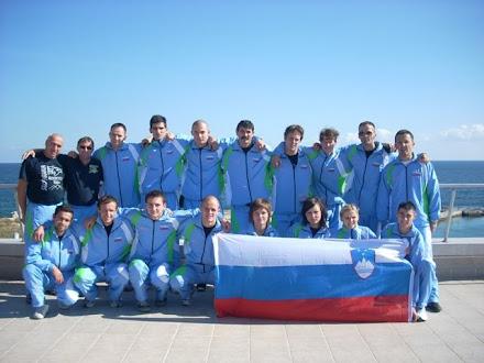 SLOVENSKA REPREZENTNACA V KICKBOXINGU NA EVROPSKEM PRVENSTVU V BOLGARIJI 2008