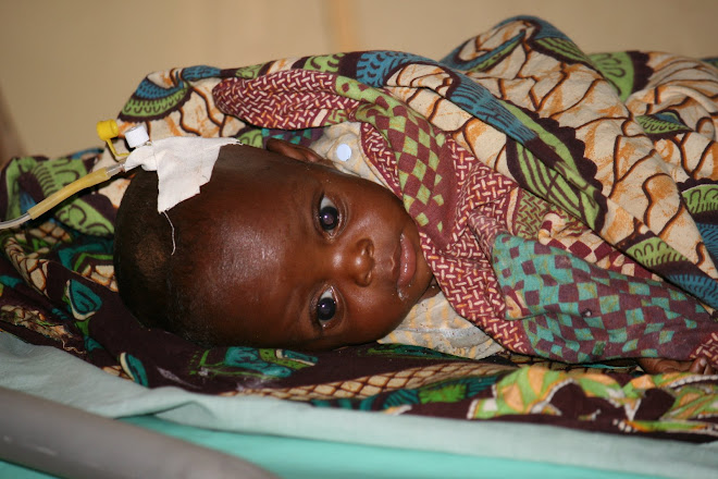 An infant at Berega