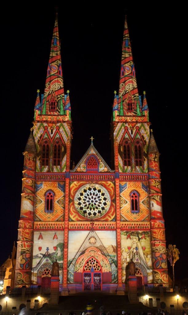 Festival das Luzes de Sydney IMG 7427